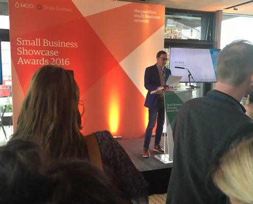 Whizz Pop Bang shortlisted for the Guardian Small Business Showcase Awards