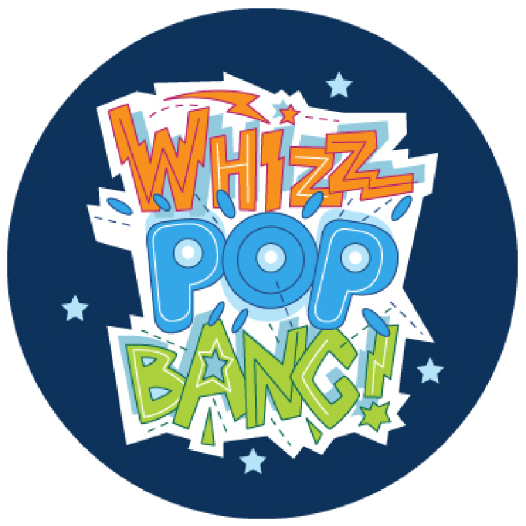 Whizz Pop Bang logo round