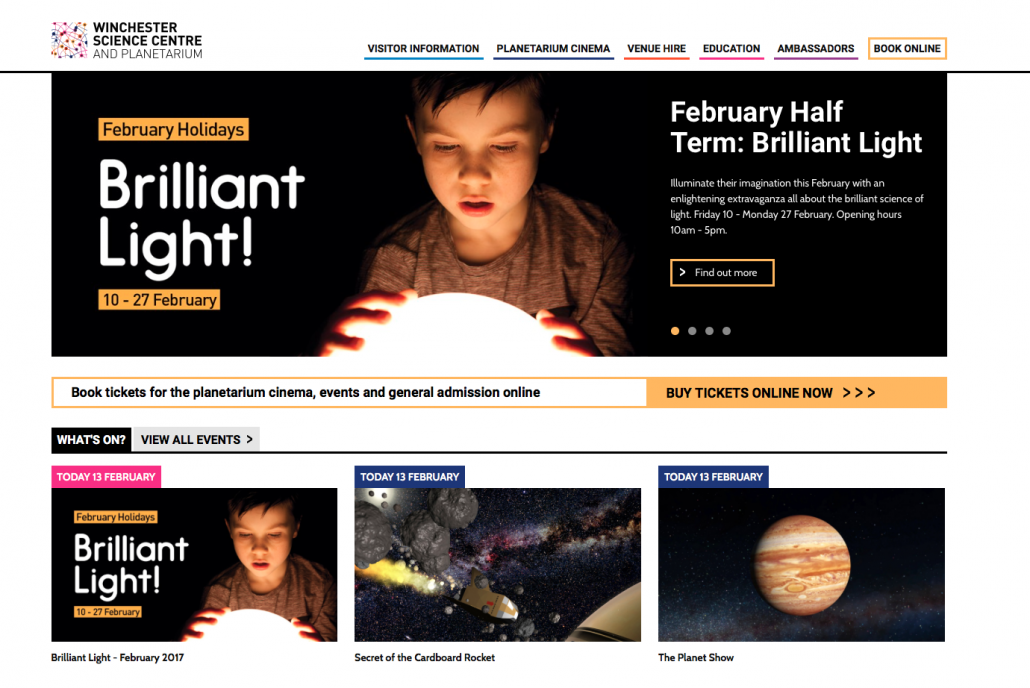 Winchester science centre and planetarium