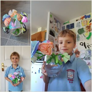 Whizz Pop Bang chromatography flowers