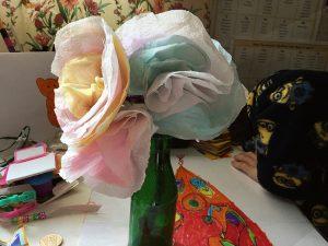 Whizz Pop Bang chromatography flowers