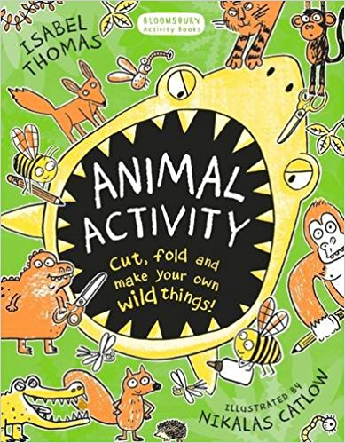Animal Activity book by Isabel Thomas