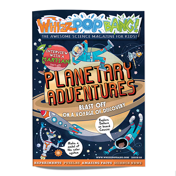 Whizz Pop Bang science magazine Issue 28 cover SMALL