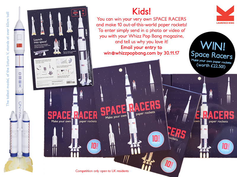 WPB online science book competition SPACE ROCKETS
