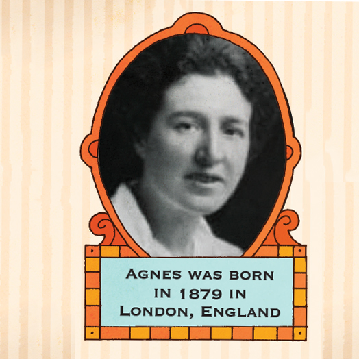 Agnes Arber photo in Whizz Pop Bang science magazine