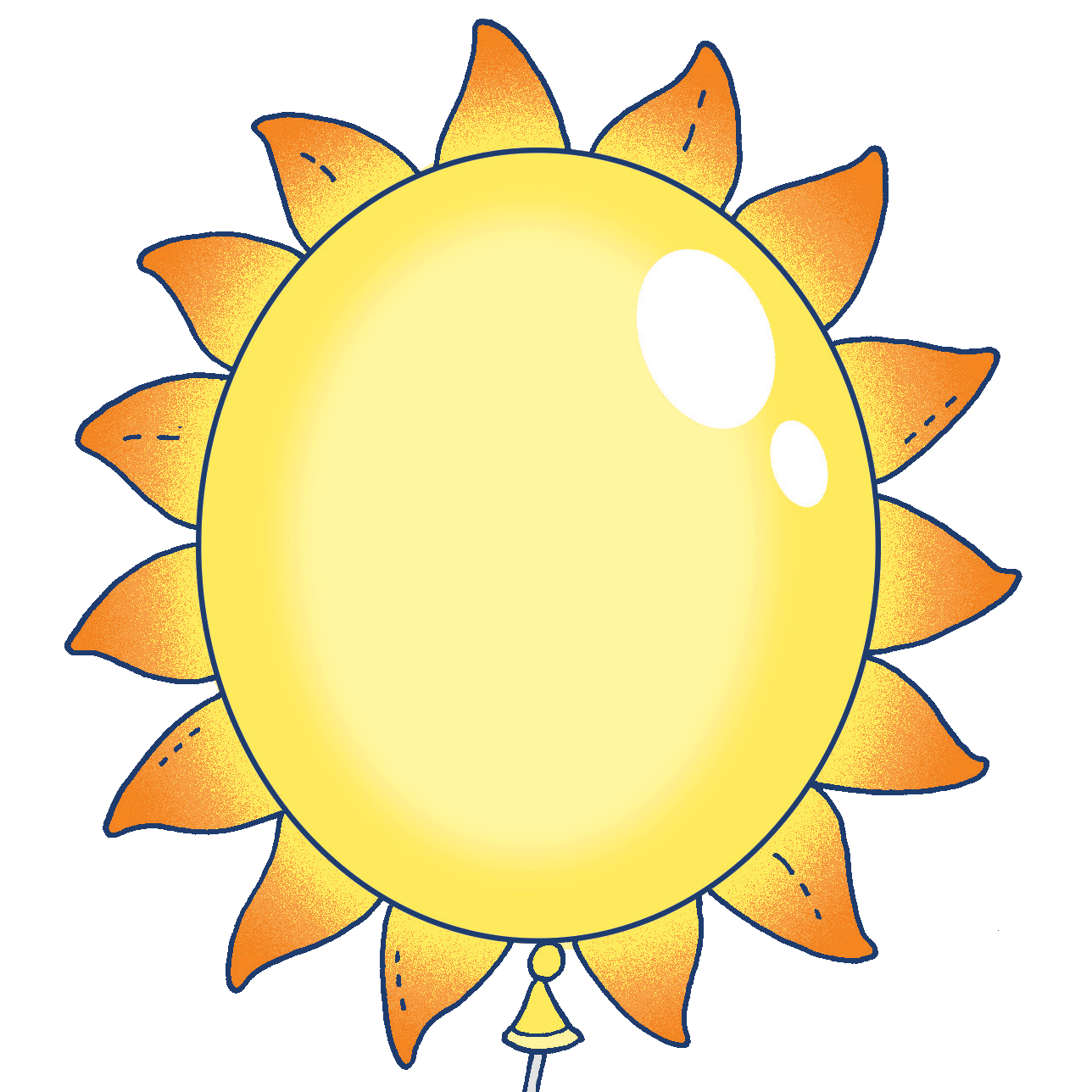sunshine balloon