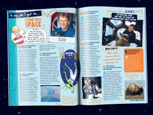 Whizz Pop Bang magazine interview with ESA astronaut Tim Peake