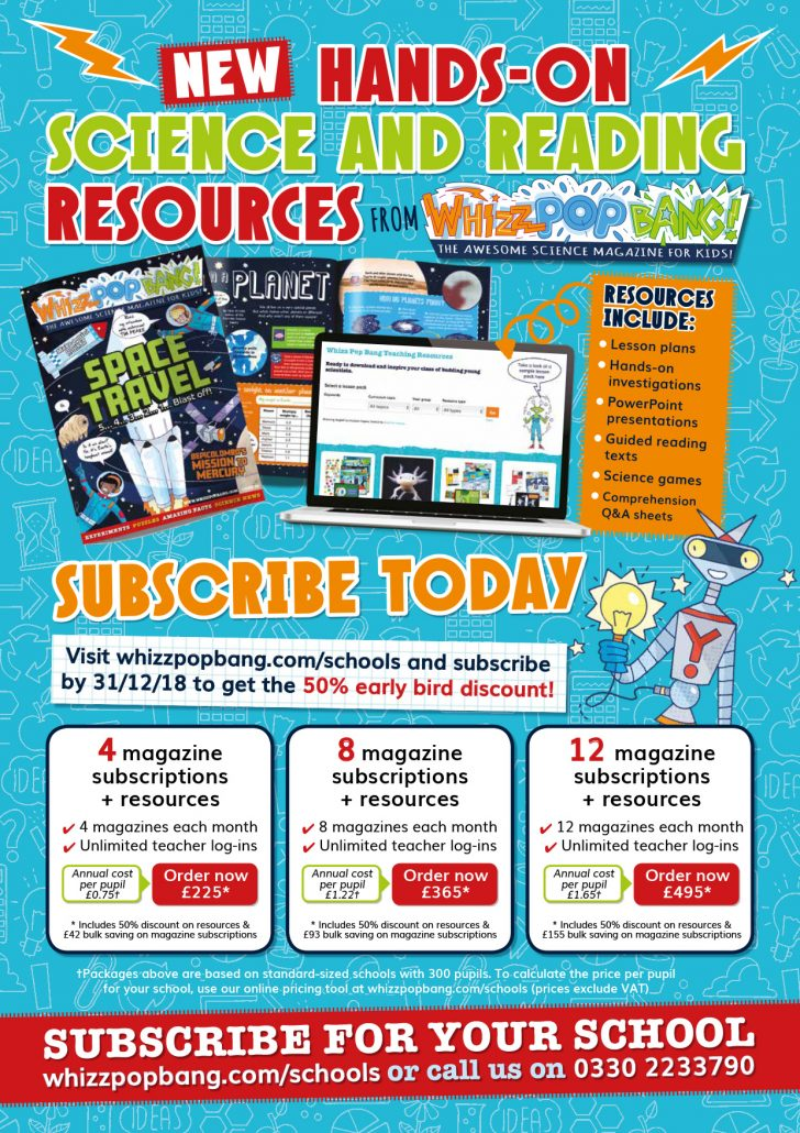 new science and reading resources for schools