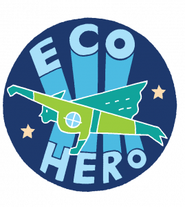 Whizz Pop Bang magazine Eco hero icon