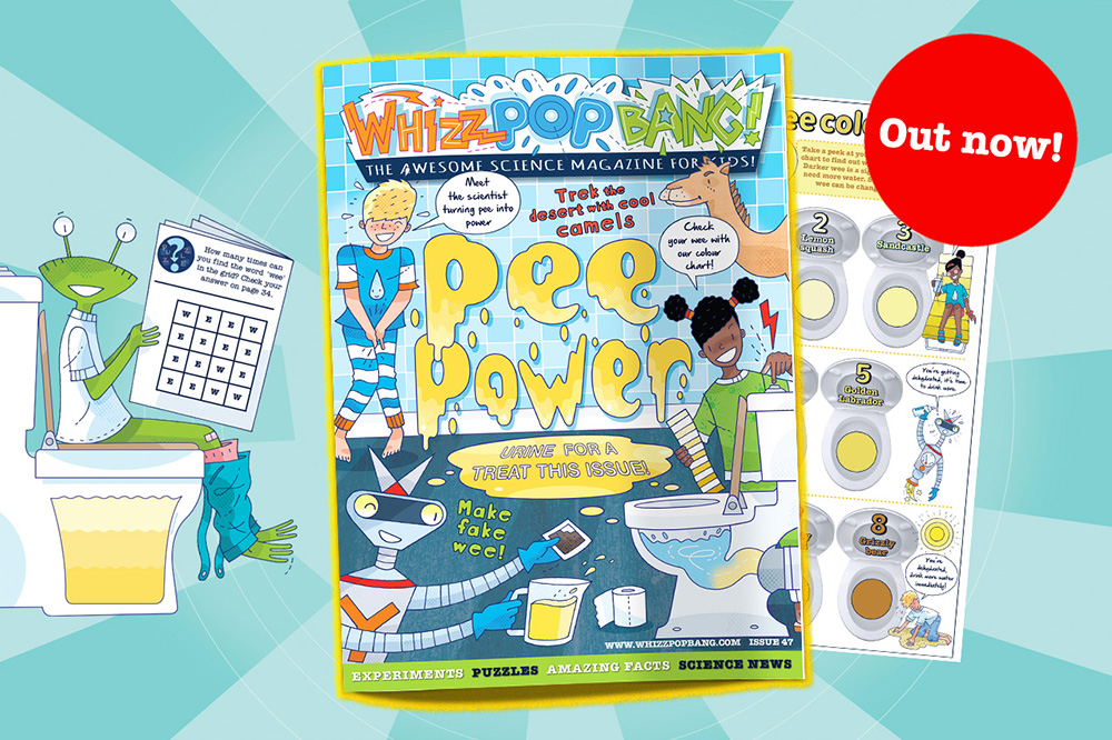 Whizz Pop Bang science magazine for kids