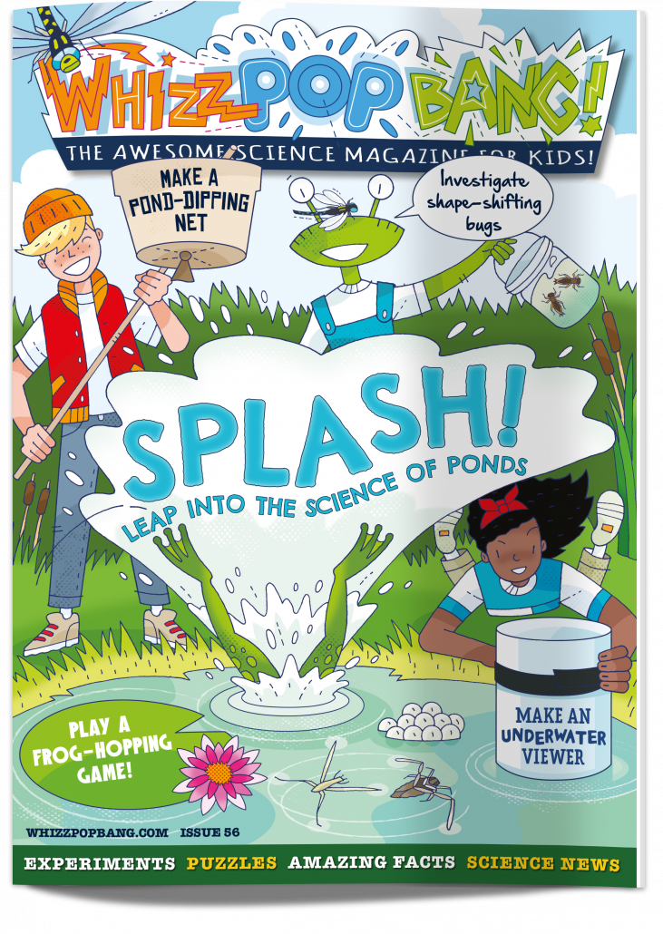SPLASH: Leap into the science of ponds