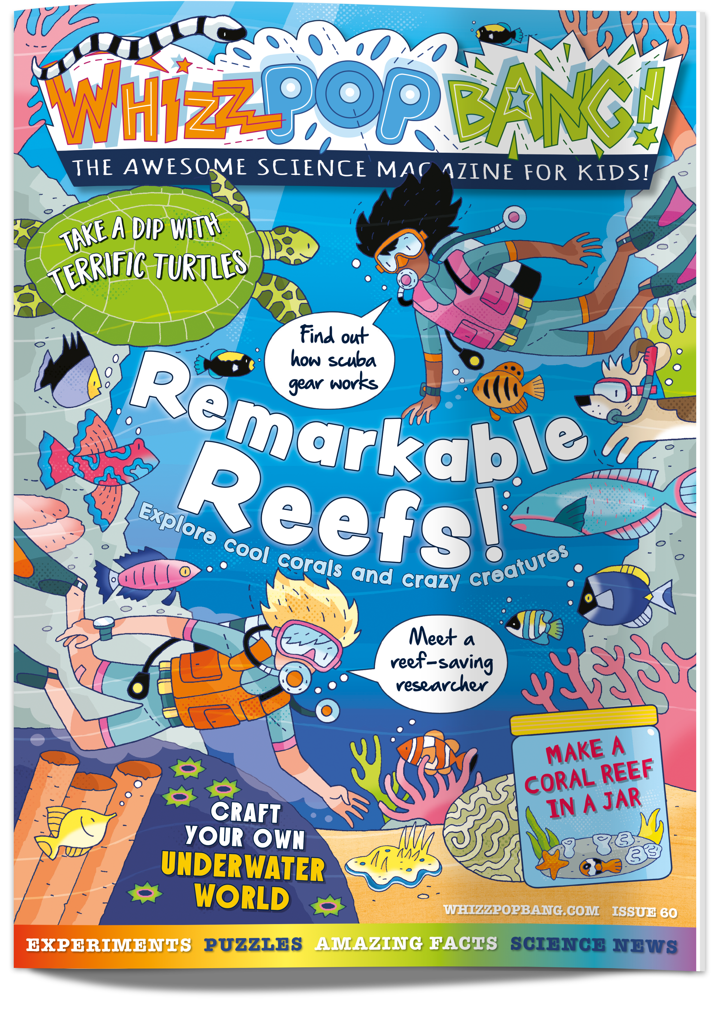 Whizz Pop Bang Coral Reef cover