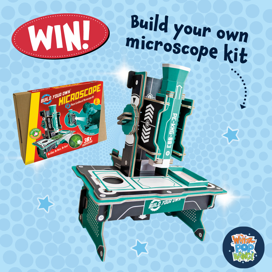 Win a build your own microscope kit