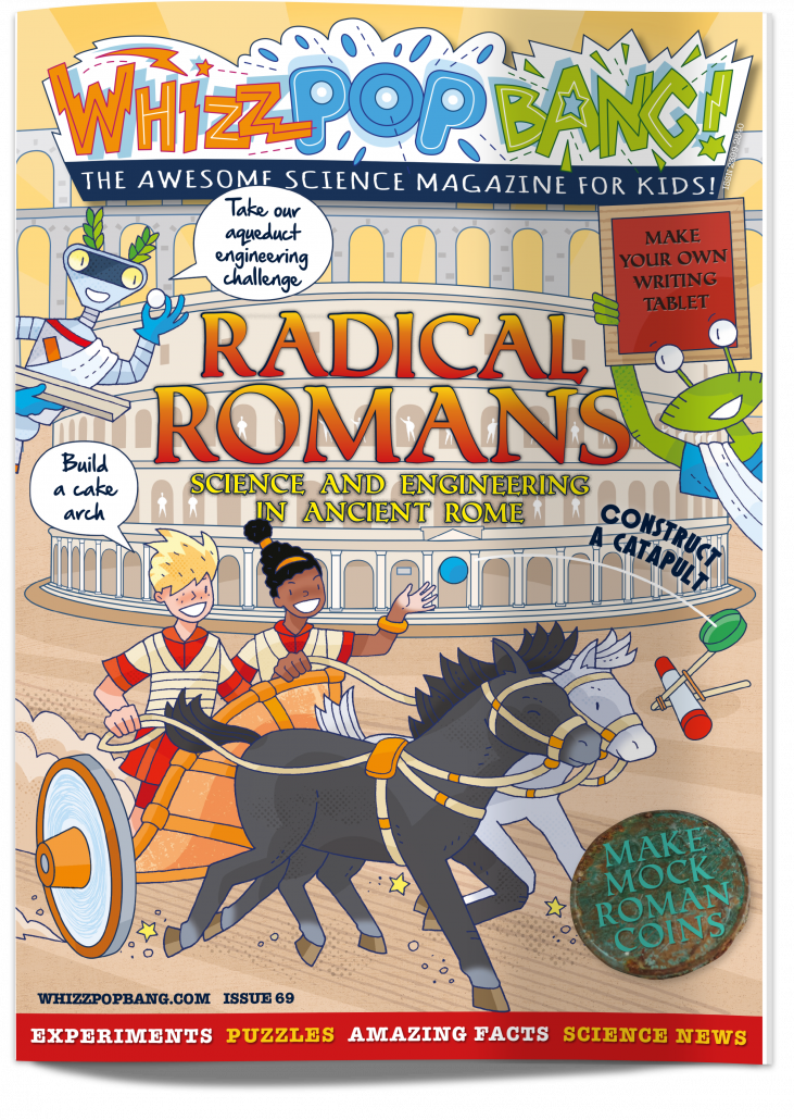 Children's science magazine about Romans