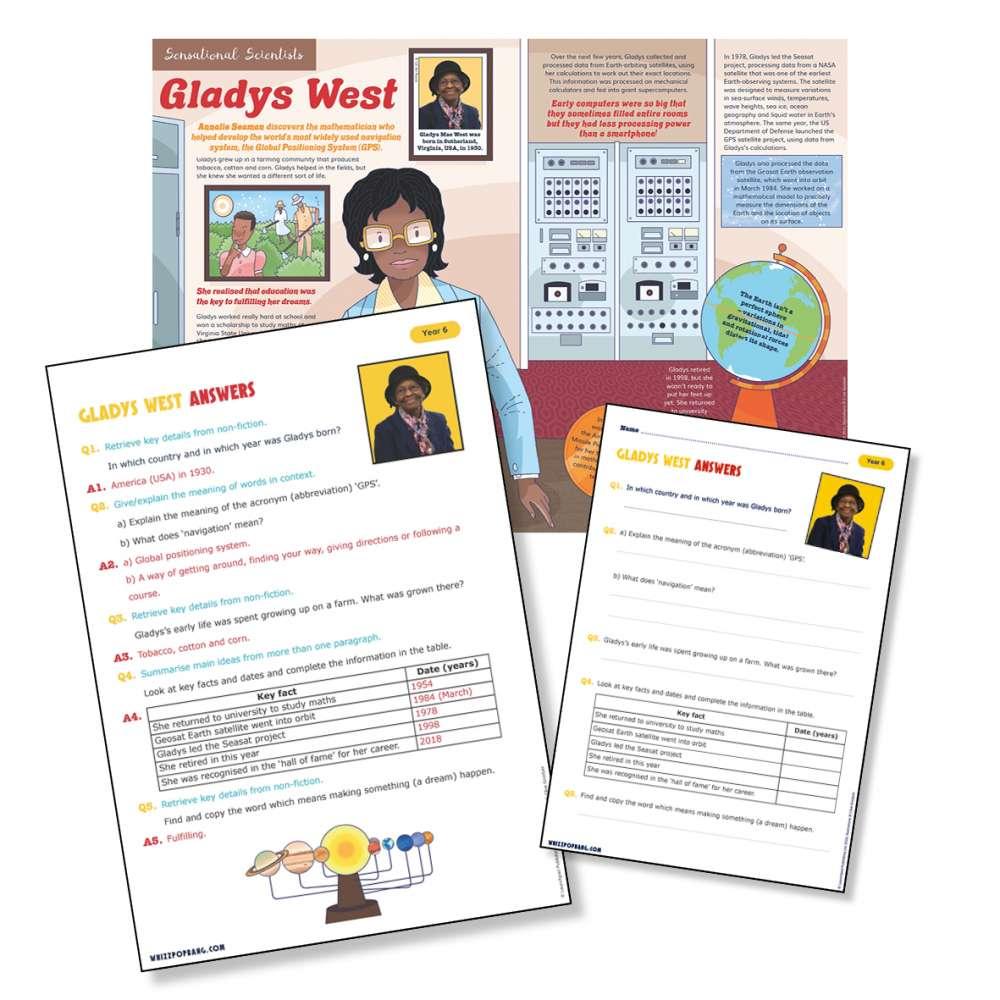 Historical scientist Gladys West