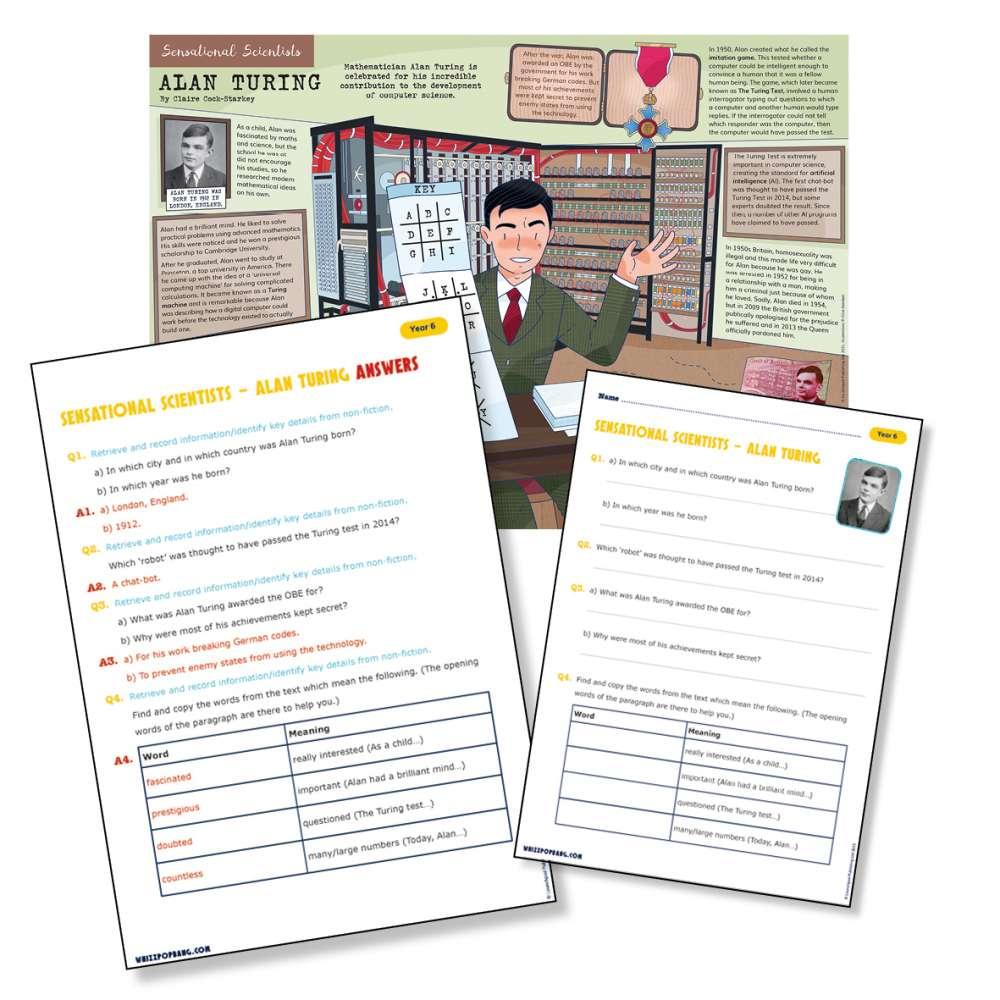 A biography of Alan Turing