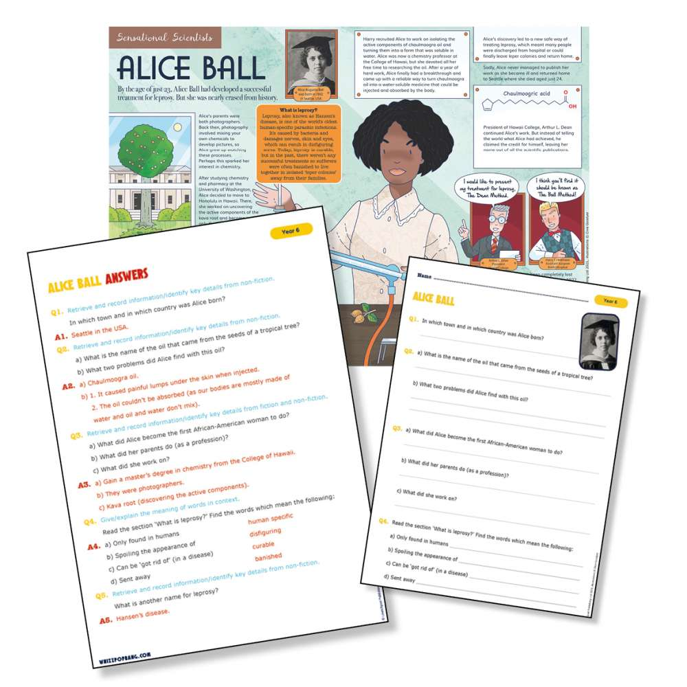 Historical scientist Alice Ball
