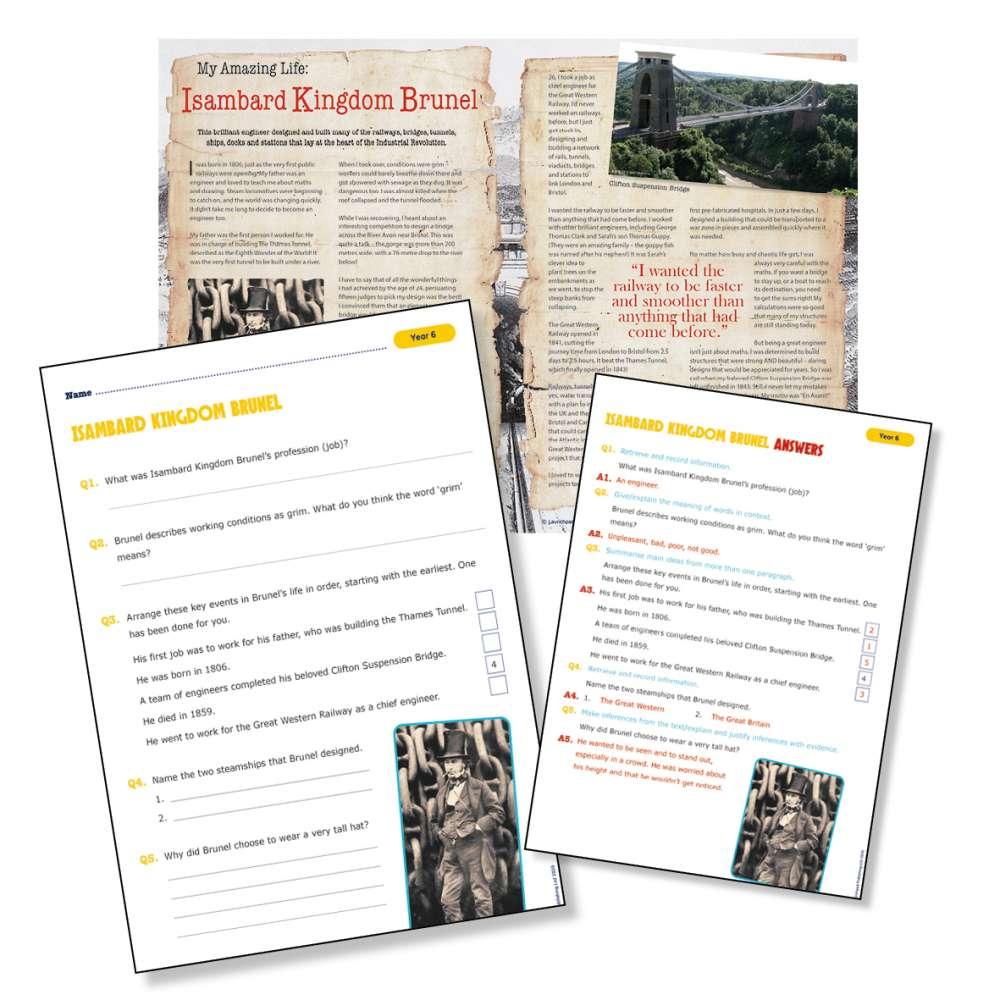 Historical scientist Isambard Kingdom Brunel