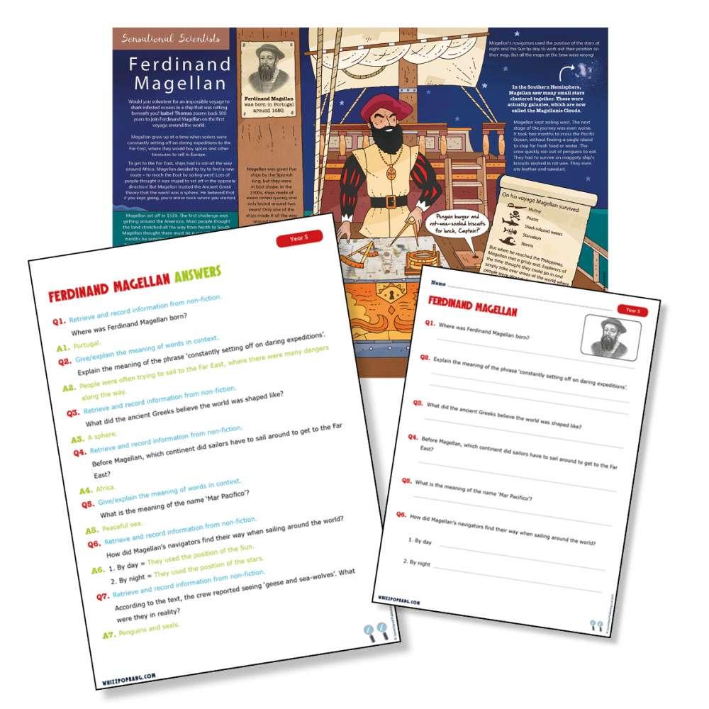 Historical explorer Ferdinand Magellan