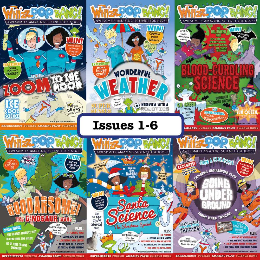 Issues 1 to 6 image 1