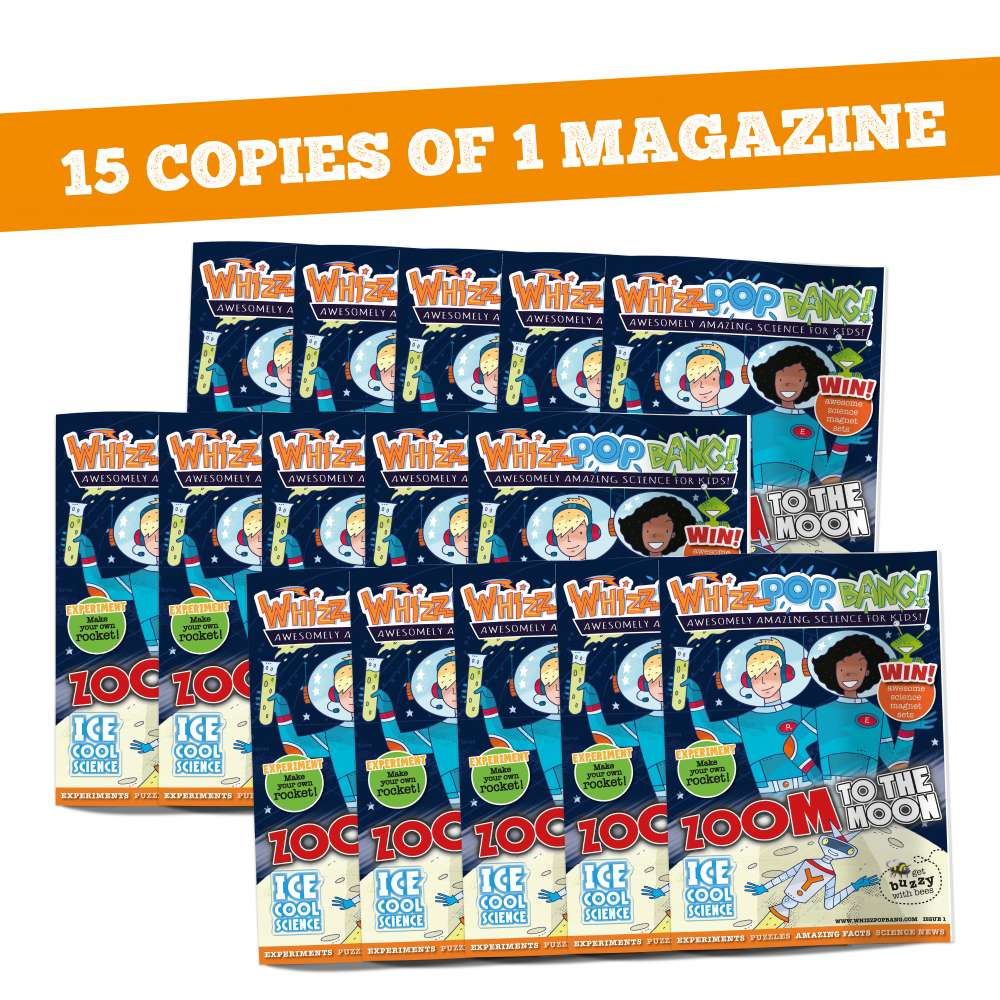 Fifteen copies of one magazine image 1