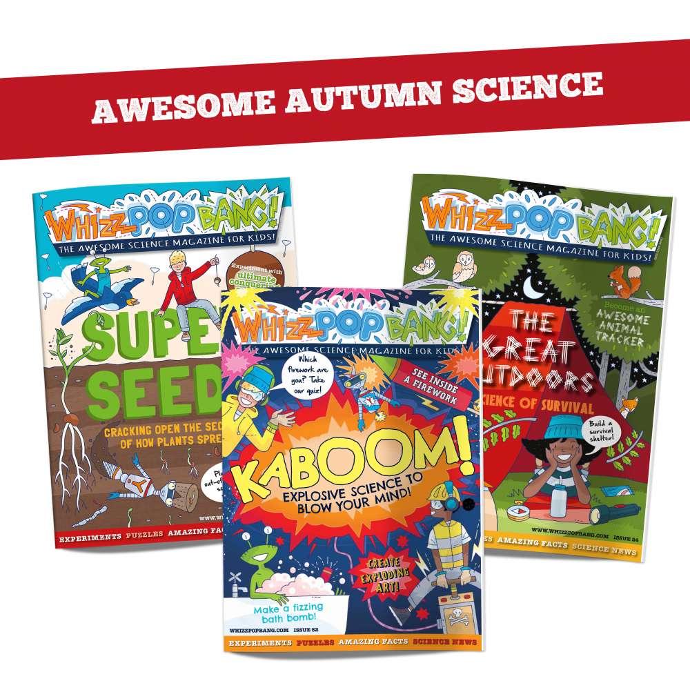Autumn science bundle image 1
