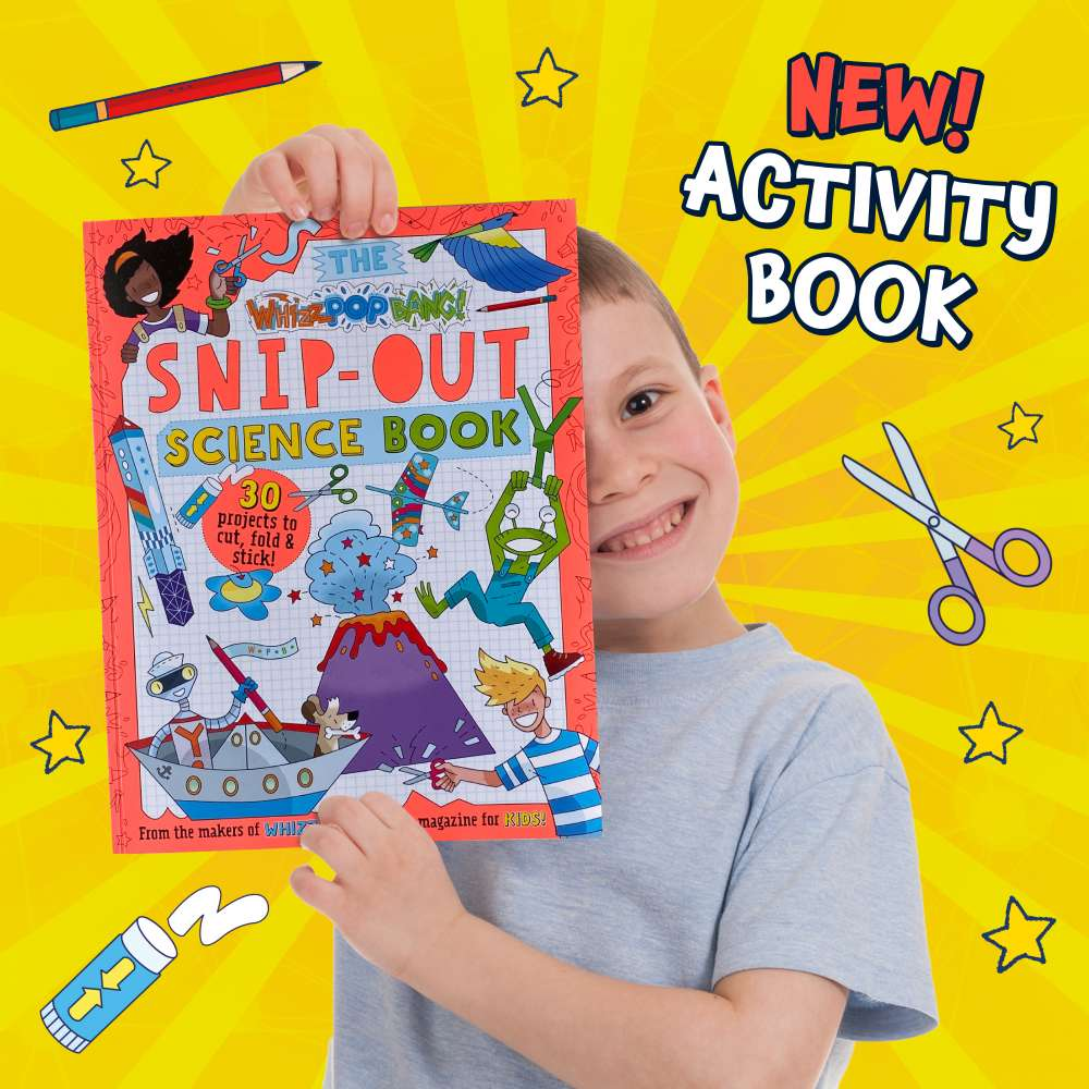 Whizz Pop Bang Snip-Out Science Book image 2