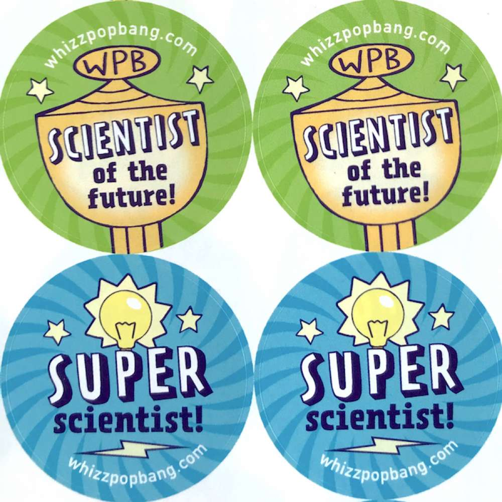 70 Science stickers image 2