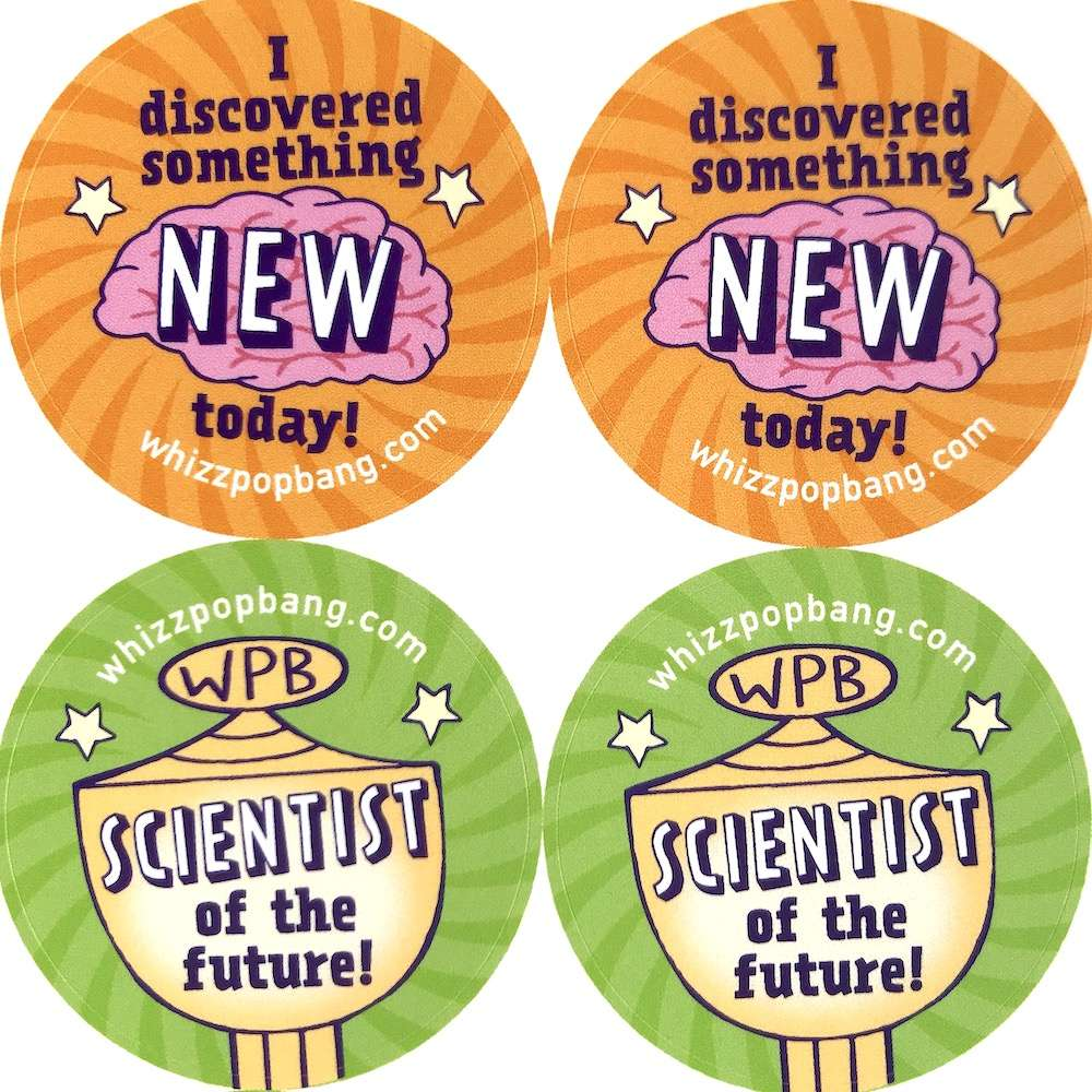 70 Science stickers image 3