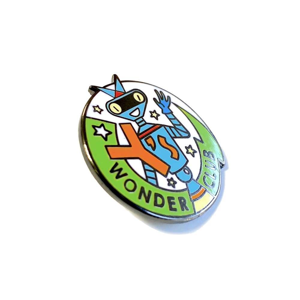 Y's Wonder Club enamel pin badge image 4