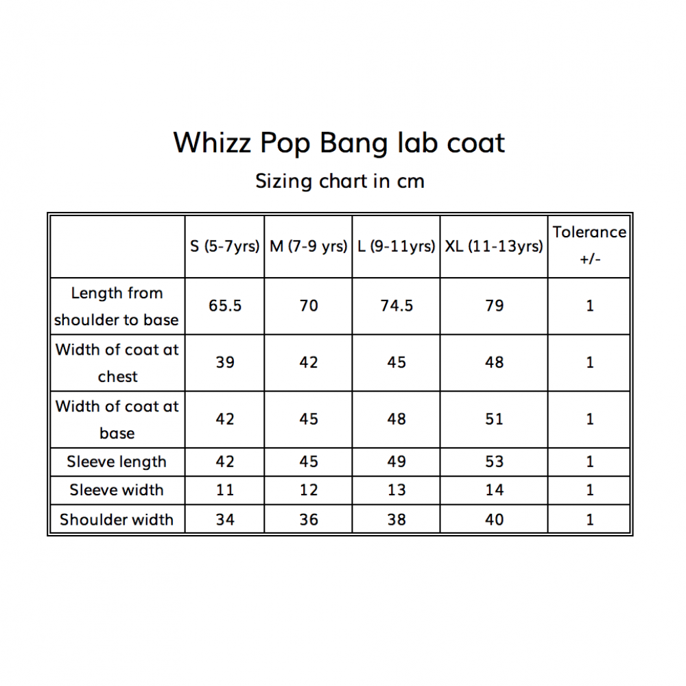 Whizz Pop Bang Lab Coat image 6