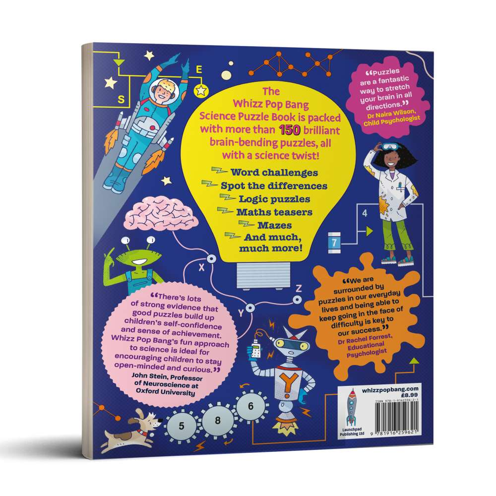 Whizz Pop Bang Science Puzzle Book image 2