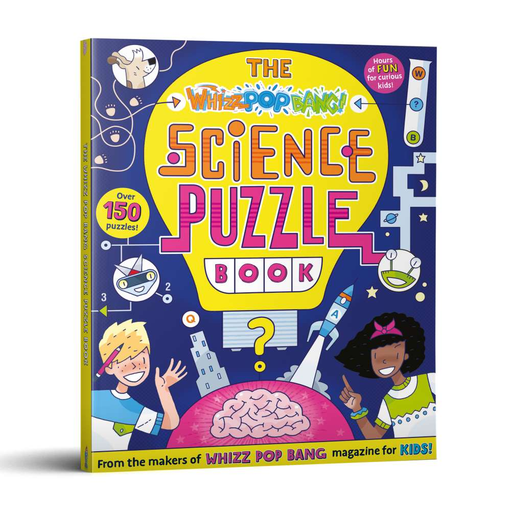Whizz Pop Bang Science Puzzle Book image 1
