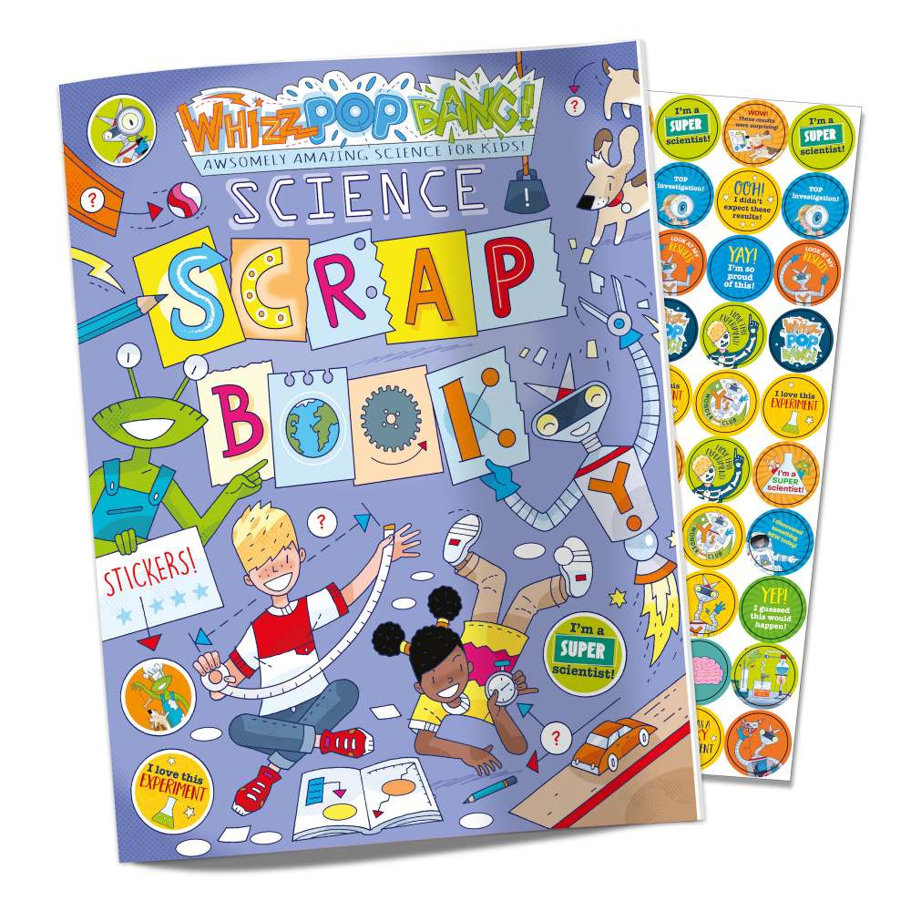 Science Scrapbook and Sticker Sheet image 1