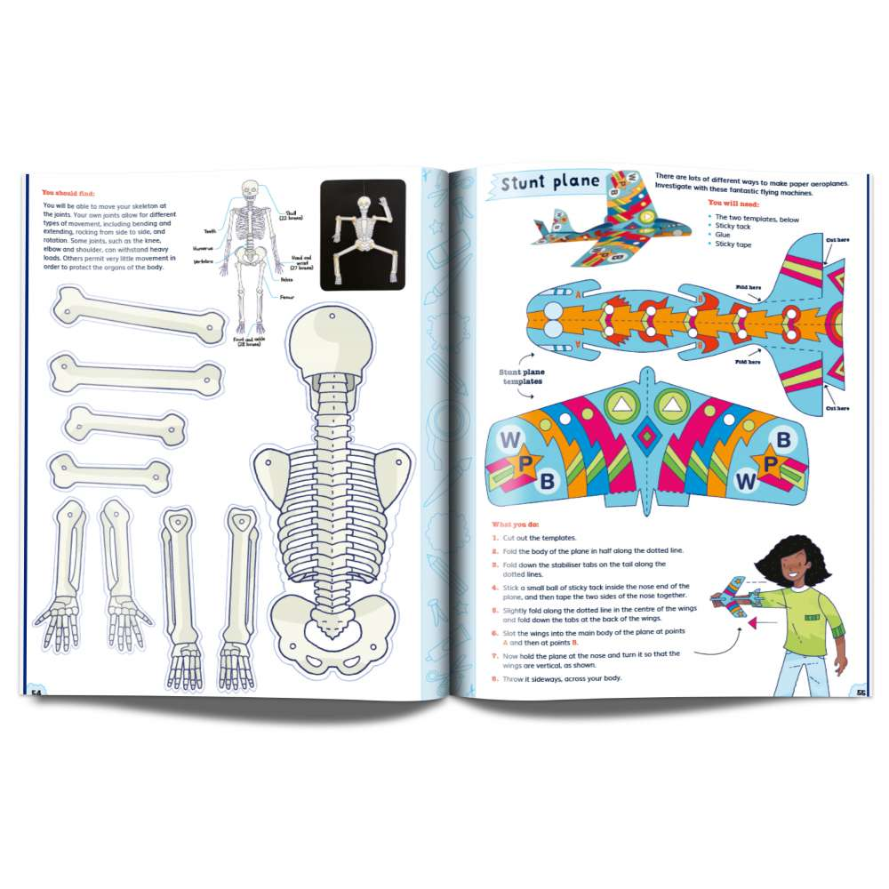 Whizz Pop Bang Snip-Out Science Book image 5
