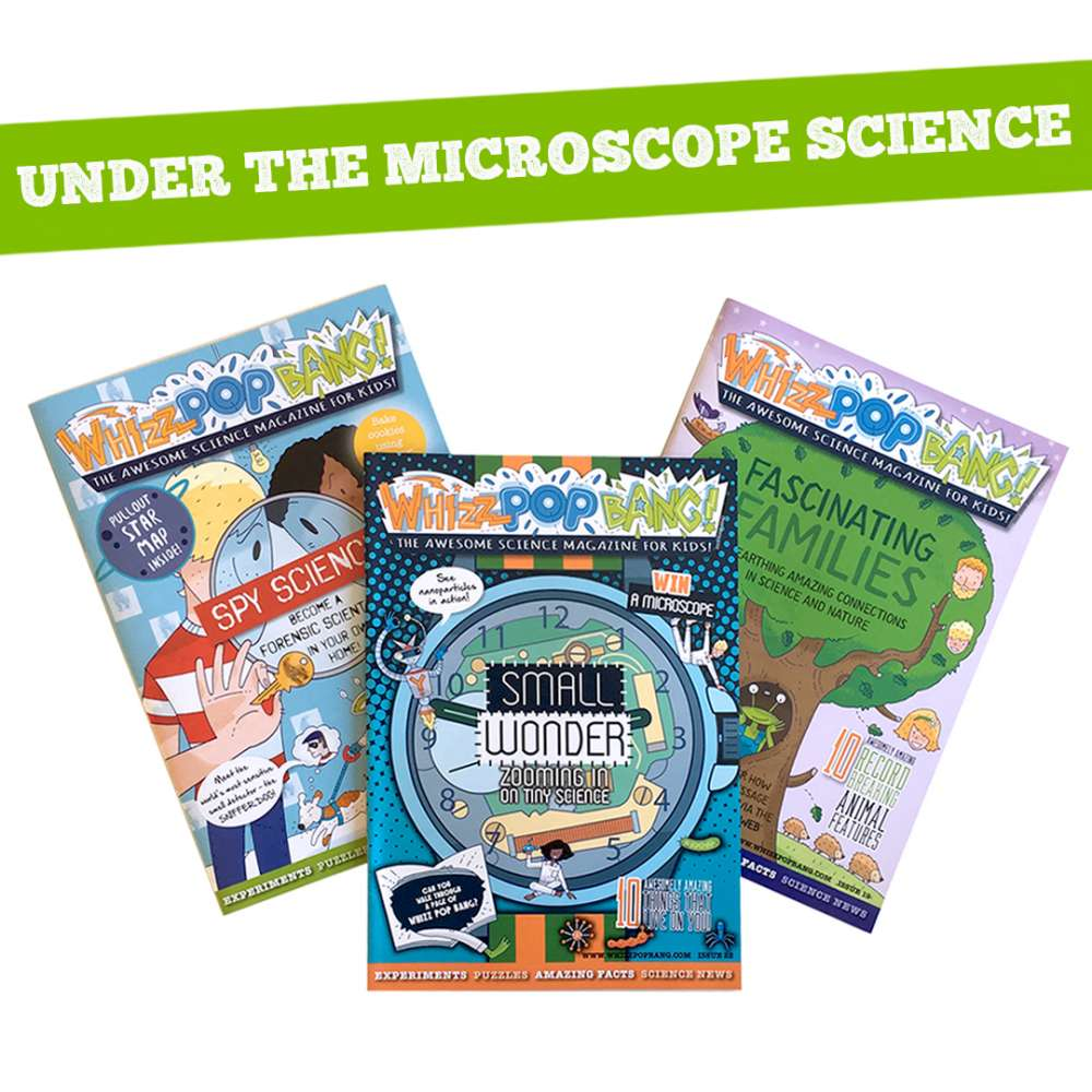 Microscopic science bundle image 1