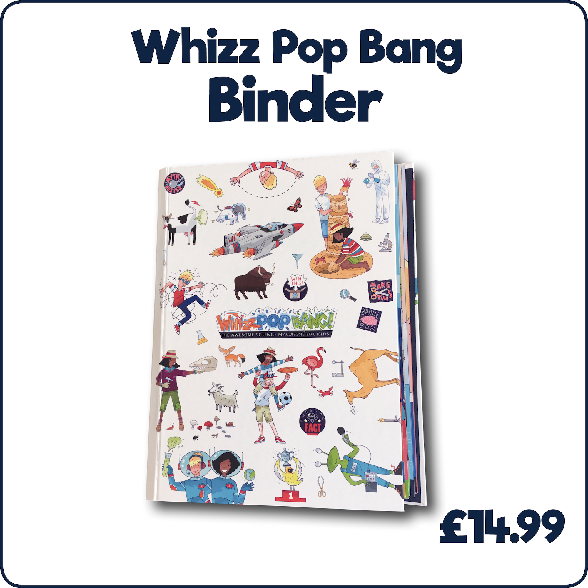 Whizz Pop Bang Binder