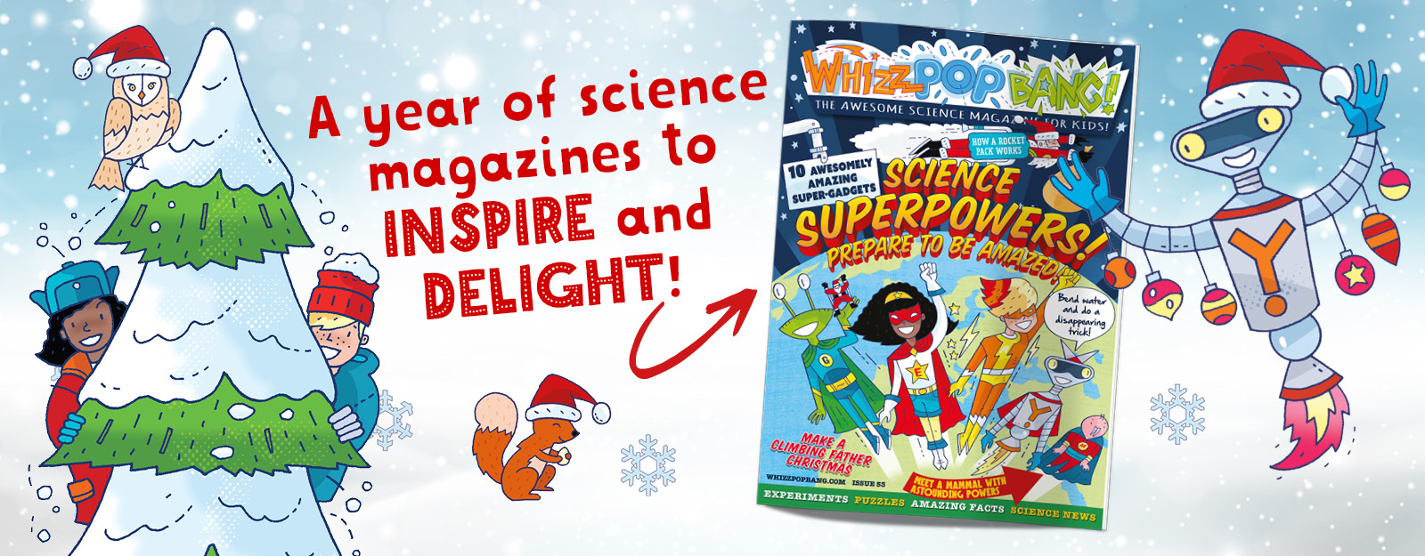 Science magazine for kids